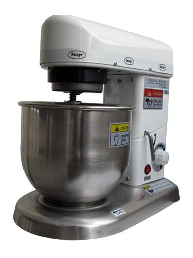 GASTRORAG QF-5W Планетарная тестомесильная машина (настольная, 10 скоростей) для пекарен и кондитерских
